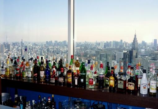 North tower bar
